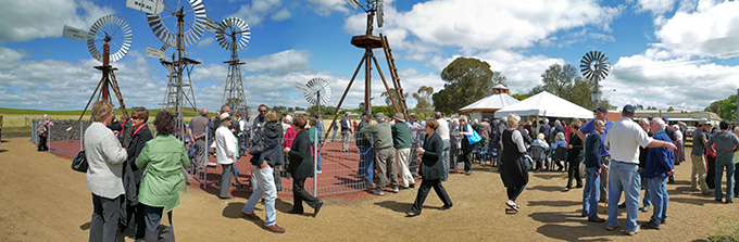 Opening of Beeac Windmill Park